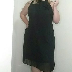 Lane Bryant Size 18/20 Black Dress